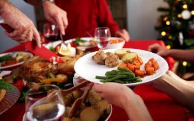 Tips para las comidas navideñas